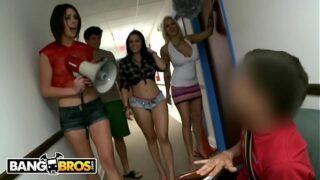 BANGBROS – Diamond Kitty, Lylith Lavey & Anastasia Morna Invade College Dorm